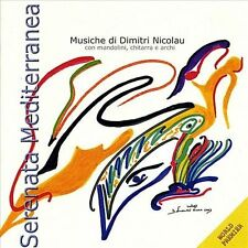 Fabio Gallucci-`Serenata Mediterranea` Mandolin Concertos By Dimitri NicolCD NEW