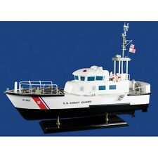 "United States Coast Guard USCG 44 Foot Motor Life Boat 30"" Wood Model Assembled"