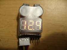 LiPo Tester Checker mit Alarm 2S-8S Akku