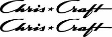 """2 Chris Craft decals 16""""  FREE SHIPPING"""