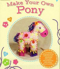 SOFT TOY CRAFT KIT MAKE YOUR OWN PONY for AGE 6 PLUS, BRAND NEW