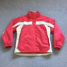 Trespass Ladies Red Pink & White Ski Jacket & Inner Jacket - Size L