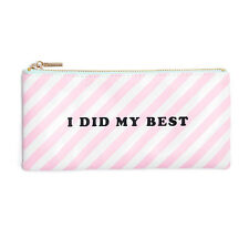 """NEW - Ban.do Bando Leatherette Pouch """"I Did My Best"""""""