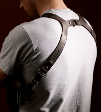 KOFFSKI Slim Shoulder Holster Bag - BROWN
