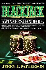 Blackjack: A Winner's Handbook, Patterson, Jerry L., Good Book
