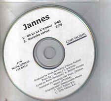 Jannes-Oh La La Lamour Promo cd single