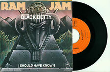 """RAM JAM 'Black Betty / I Should Have Known' 1977 HOLLAND EPIC PS EX+ VINYL 7"""""""