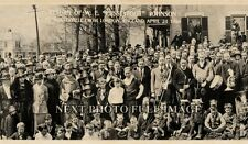 "1920 ""Pussyfoot Johnson"" returns to Westerville from England Panoramic Photo 40"""