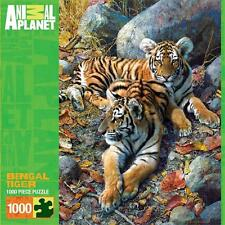 MASTERPIECES ANIMAL PLANET JIGSAW PUZZLE BENGAL TIGER 1000 PCS  #71528