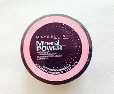 Maybelline Mineral Power Blush naturally luminous blush soft mauve 2/14oz