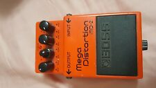 BOSS Mega Distortion MD-2 Distortion Guitar Effect Pedal - used