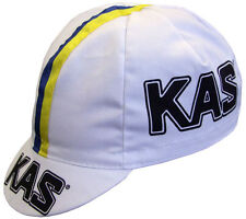 KAS RETRO CYCLING TEAM CAP - Vintage -  Made in Italy - Sean Kelly
