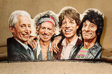 """The Rolling Stones Rock & Roll Tabletop Standee 10 1/2"""" Long"""