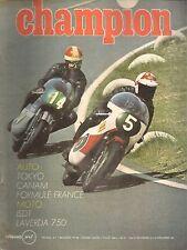 CHAMPION 47 1969 MARTINI MWF F3 TECNO F3 LOTUS 59 F3 ESSAI 750 LAVERDA S CANAM