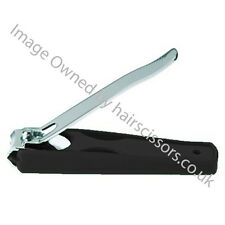 Nail Clipper Stainless Steel BLACK cover Clipping Trimming Finger & Toe Nails