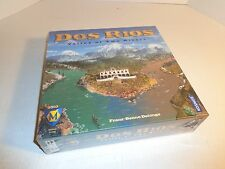 Dos Rios Board Game  2004 Valley of Two Rivers by Mayfair Games,Inc Brand New
