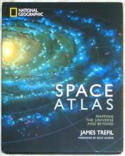 NATIONAL GEOGRAPHIC ~ SPACE ATLAS ~ MAPPING THE UNIVERSE & BEYOND ~ ILLUS HC