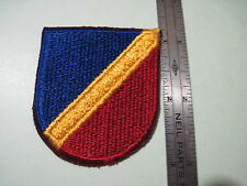 Army 82nd AIRBORNE AVIATION forces beret FLASH patch cut edge
