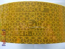 1 m x 51 mm LKW Konturmarkierung ECE 104, gelb,selbstklebend,stark reflektierend