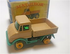 "Vintage Matchbox Lesney  "" Unimog ""  MPN# 49  (front tire is missing)"