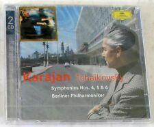 TCHAIKOVSKY P.I. - SYMPHONIES 4,5,6 - VON KARAJAN - 2 CD Sigillato DG