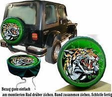 ONU Gel Tigre Voiture Jeep Action Pneu De Rechange Référence Air Brush -Repro