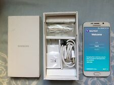 New Nr Mint Samsung Galaxy S6 SMG920V 32GB White Verizon Unlocked AT&T Verizon