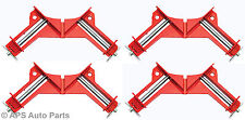 "4x 3"" 75mm Corner Clamp Vice Wood work Carpenter DIY Bench Tool Picture Holder"
