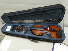 FF16) 4/4 FULL SIZE ELECTRIC VIOLIN ACOUSTIC VIOLIN WITH CASE BOW ROSIN BRIDGE