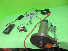 2 1/2   HP treadmill motor, complete setup,w/ controller, cables, many projects