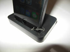 Charger/ Dock Desktop Stand Docking Station For  iPhone 5/5C/5S BLACK