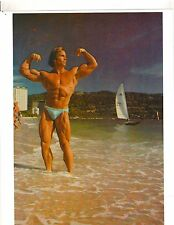 bodybuilder STEVE DAVIS On The Beach Bodybuilding Muscle Photo Color