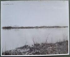 FIUME PO. Parma. Foto (cm 29,5x23,5) dello Studio Pisseri di Parma. Circa 1930