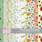 20 Patterned Paper Sq 140mm -Perfectly Printed Craft Paper - Bugs and Insects