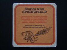M&B SPRINGFIELD BITTER STORIES FROM SPRINGFIELD BREWERY DATES FROM 1873 COASTER