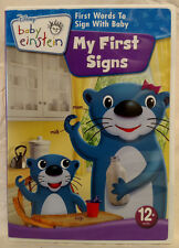 Baby Einstein: My First Signs (DVD, 2009) - Excellent!
