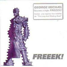CD single George MICHAEL - The BEATLES Freek 2-Track CARD SLEEVE with french sti