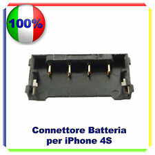 CONNETTORE PER BATTERIA SCHEDA MADRE RICAMBIO IPHONE 4S RICAMBIO RIPARAZIONE