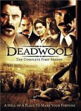 DEADWOOD-Complete First Season: DVD(4 Discs Boxset)640 mins-Timothy Olyphant***