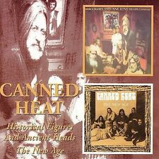 Historical Figures and Ancient Heads/The New Age by Canned Heat (CD,...
