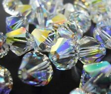 12pcs Swarovski ®  AB Crystals Bicone 5328 10mm Beads