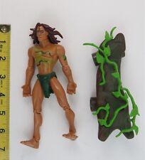 TARZAN ACTION FIGURE - TARZAN (JUNGLE SURFING) - 1999 - MATTEL