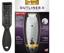 Andis Outliner II (2) Corded Trimmer; All-around Outlining, Dry Shaving & Fading
