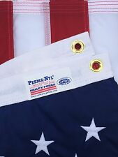 5x8 FT US American Flag Perma Nylon US Made Valley Forge Flag Embroidered & Sewn