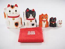 Japan Beckoning Cat Maneki Neko Matryoshka 647010