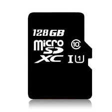 New MicroSD Card 128 GB TF Flash Memory With Adapter fit for Samsung Galaxy