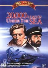 20,000 Leagues Under The Sea [ DVD ] Region 4, FREE Next Day Post...8278