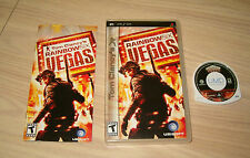 SONY PSP * TOM CLANCY'S RAINBOW SIX VEGAS * 2007 USA COMPLETE & EXCELLENT!