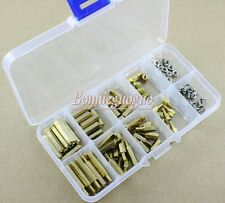 NEW M3 Brass Spacer Standoff / Screw / Nut Assortment Kit