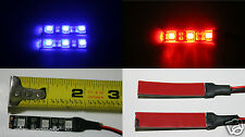 4Pcs RC Night Flying 12V LED Light Strip for RC Quadcopter Multirotor Helicopter